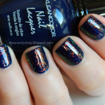 Neon Sapphire + Chunky Holo Bluebell