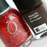"Orly ""Rockets red glare"" over itstyle n.19"