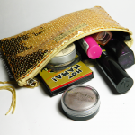 January 2013 makeup bag