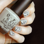 "My take on the speckled nails with L'Oréal ""Confettis"""