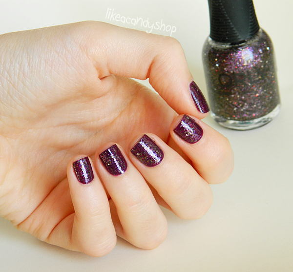 "Orly Surreal collection ""Digital glitter"" / Ep.5 ""Plum nails"""
