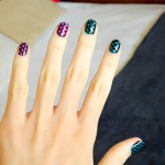 Dotted manicure with Orly Surreal