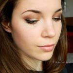 Bronze & Brown makeup look