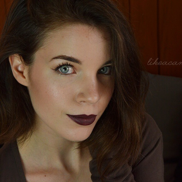 This is what I call fall-mood! #bblogger #ibblogger #likeacandyshop #makeup #beauty #darklips #astra #fallmood #fotd