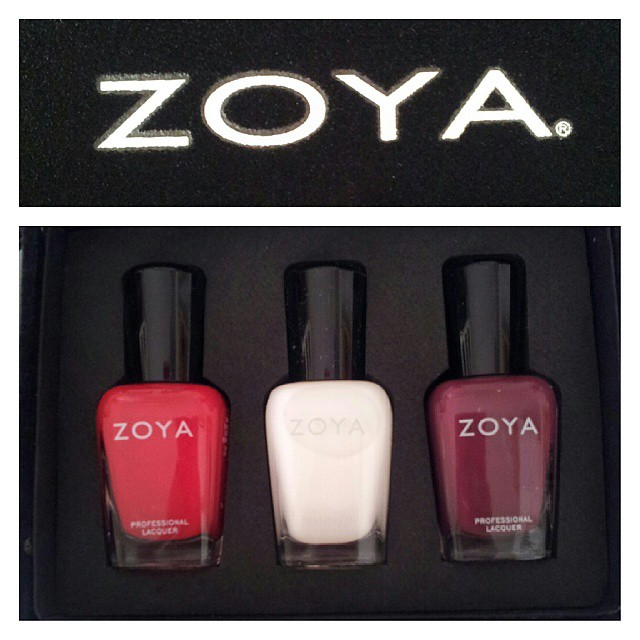 My favourite mornings start like this ♥ Grazie @zoyaitalia! #bbloggeratwork #bblogger #ibblogger #likeacandyshop #zoya #nailpolish #nailmail #nails #manicure #nailblogger @zoyanailpolish
