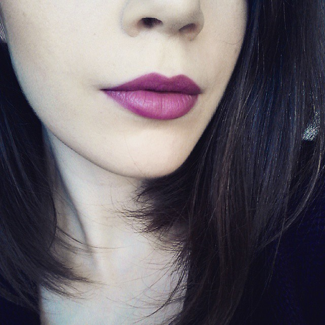 @makeuprevolution Ultra Velour Lip Cream in
