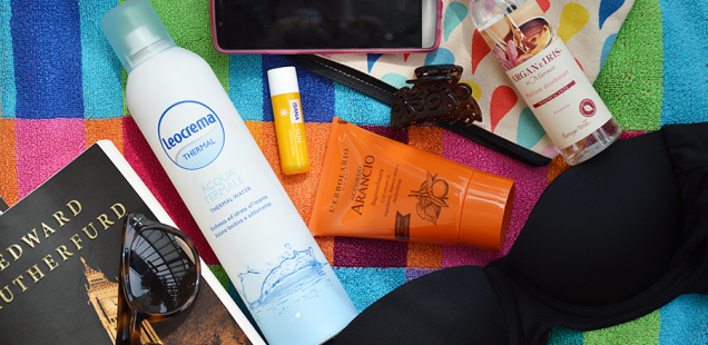 The Sweet Juicy Summer Challenge - My Beach / Pool Essentials