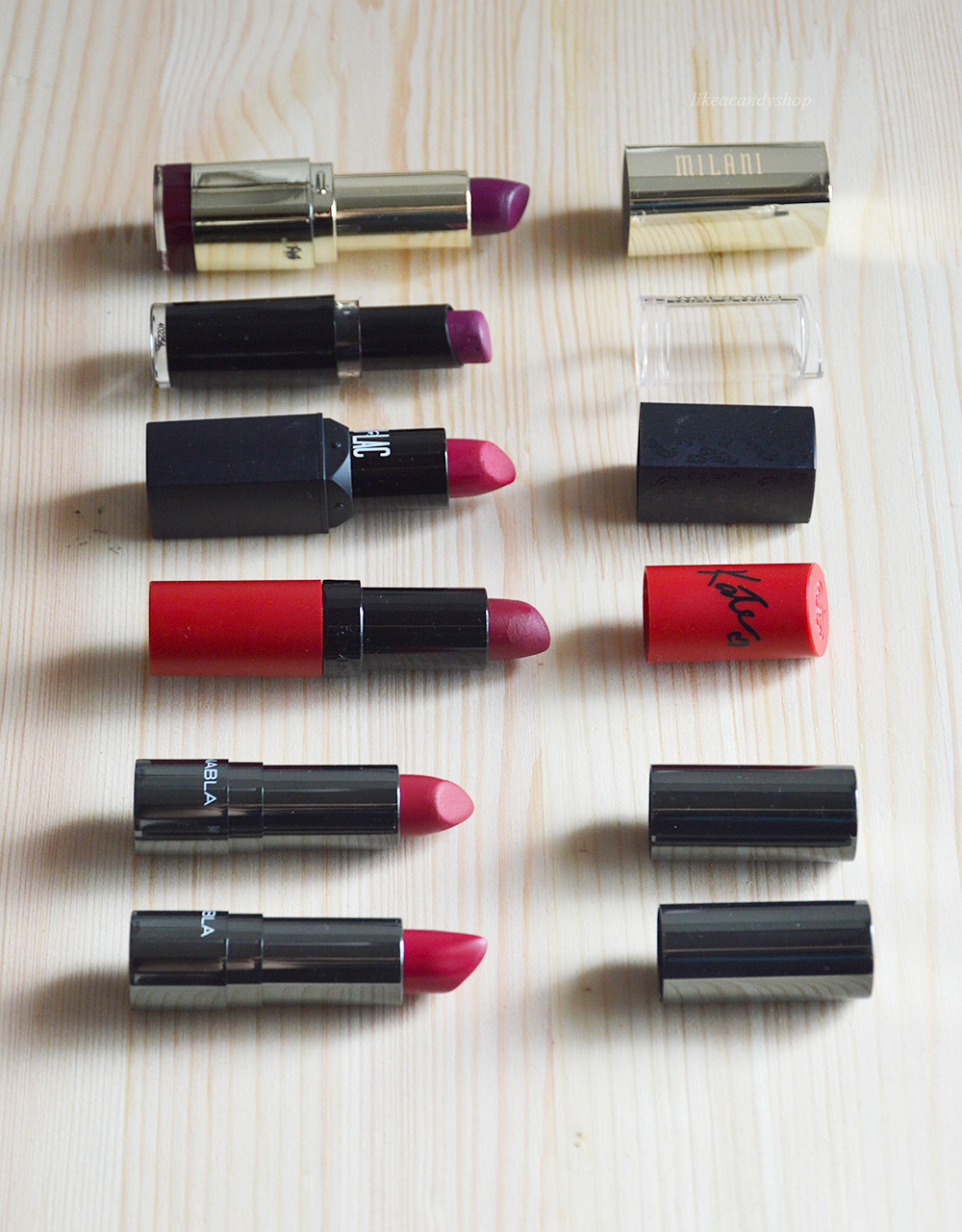 fall lipstick colours