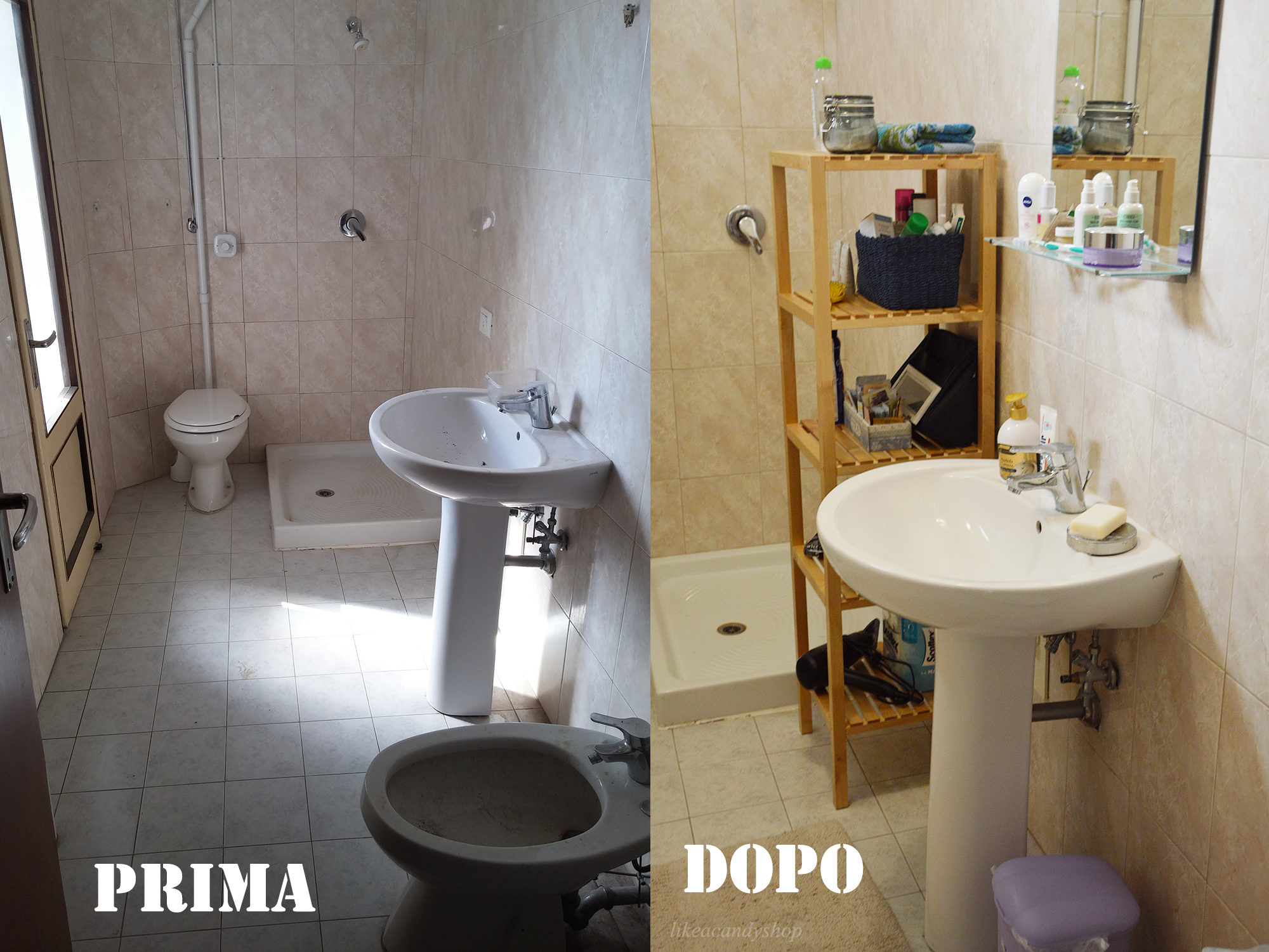 Da casa a casa ep 2 like a candy shop - Quadri da mettere in bagno ...
