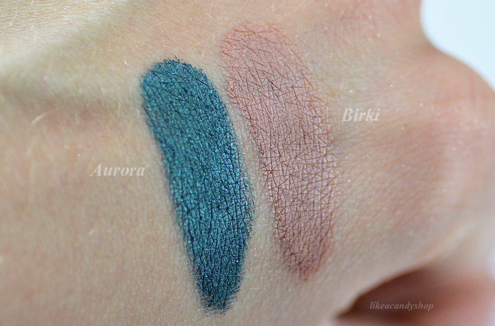 aurora birki swatches