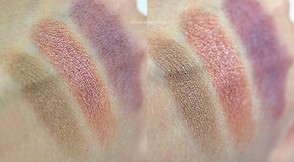 mellow desire circle swatches
