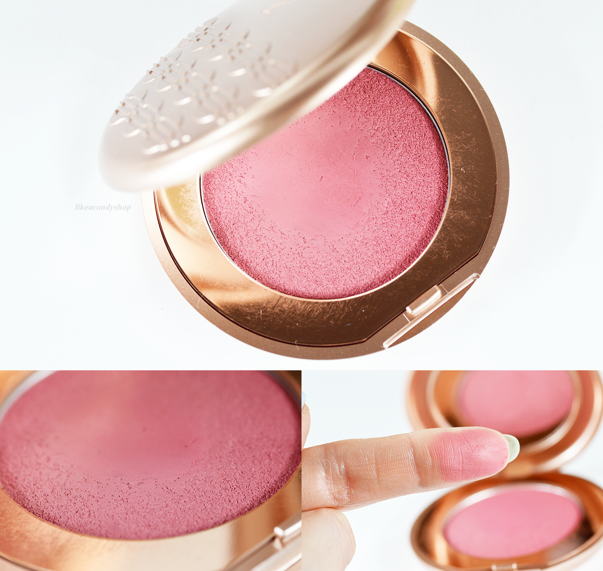 kiko rebel bouncy blush 03 treasure rose x
