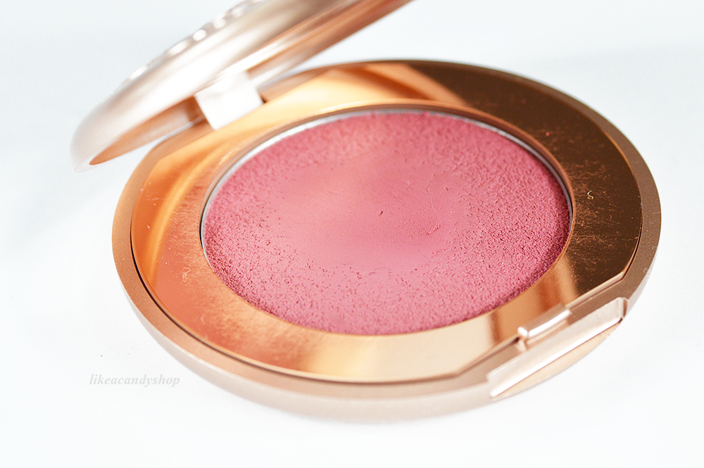 kiko rebel bouncy blush 03 treasure rose