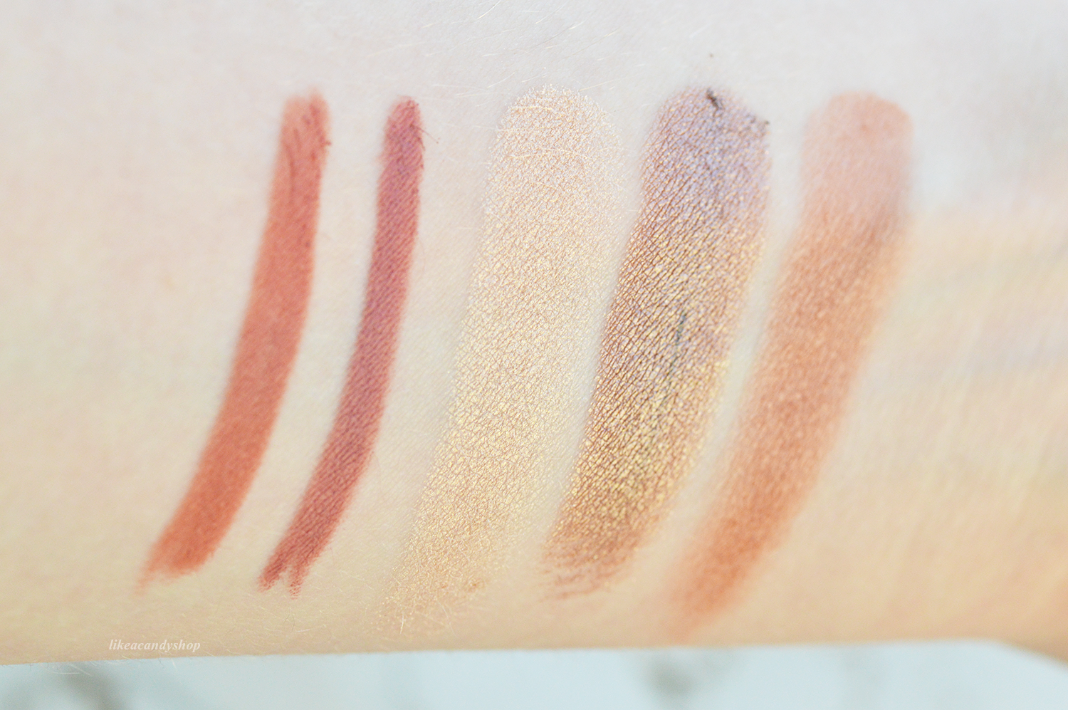 best drugstore products swatches