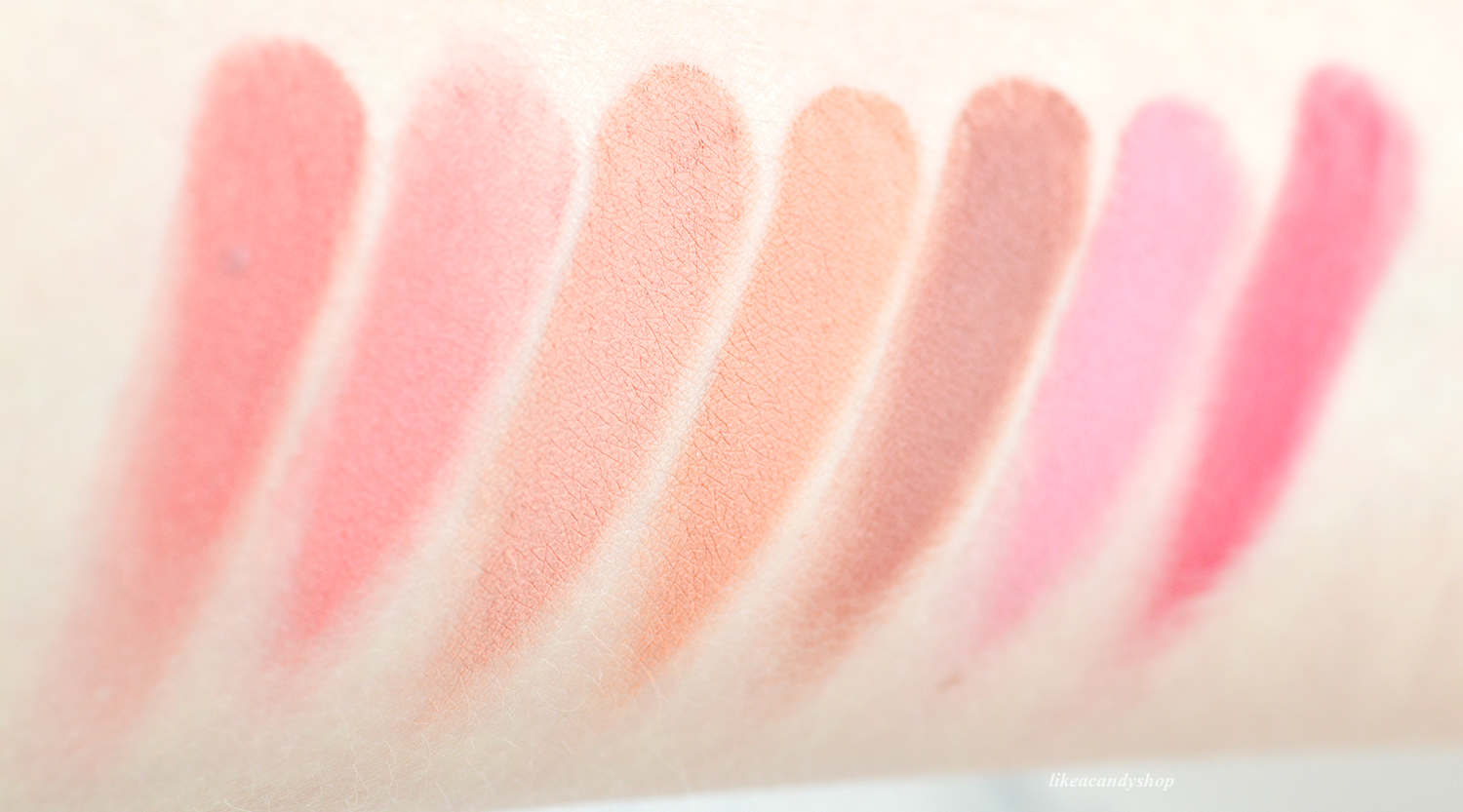 blush garden swatches