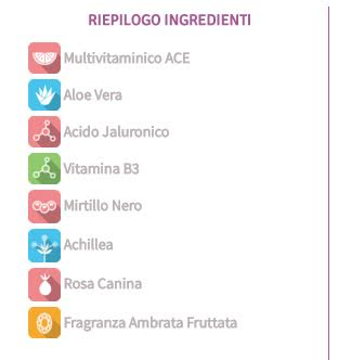 lista ingredienti