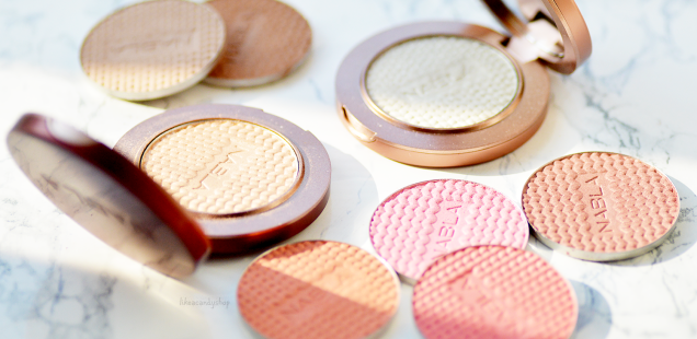 Nabla Shade&Glow + Blossom Blush swatches + review