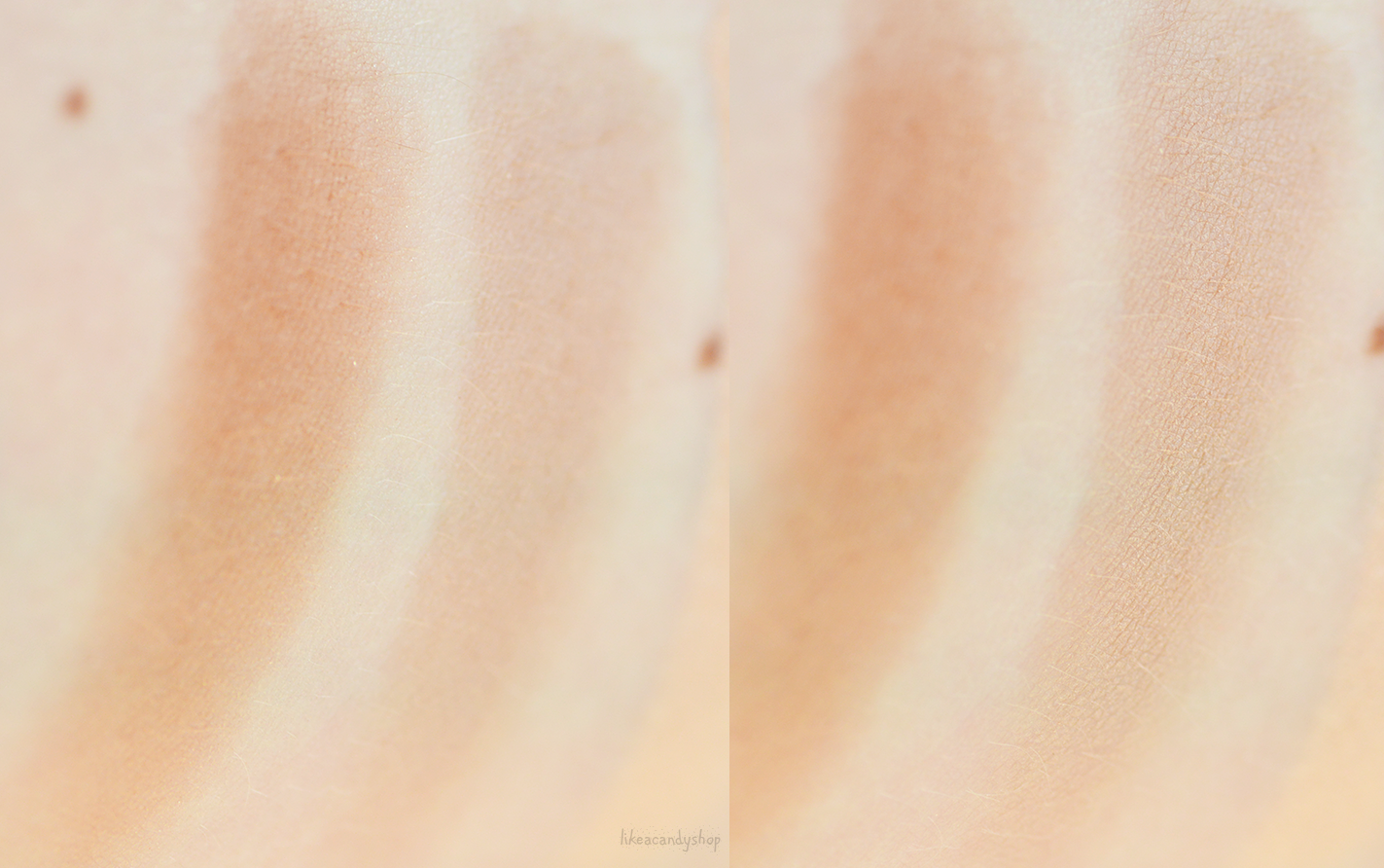 nabla shade and glow swatches