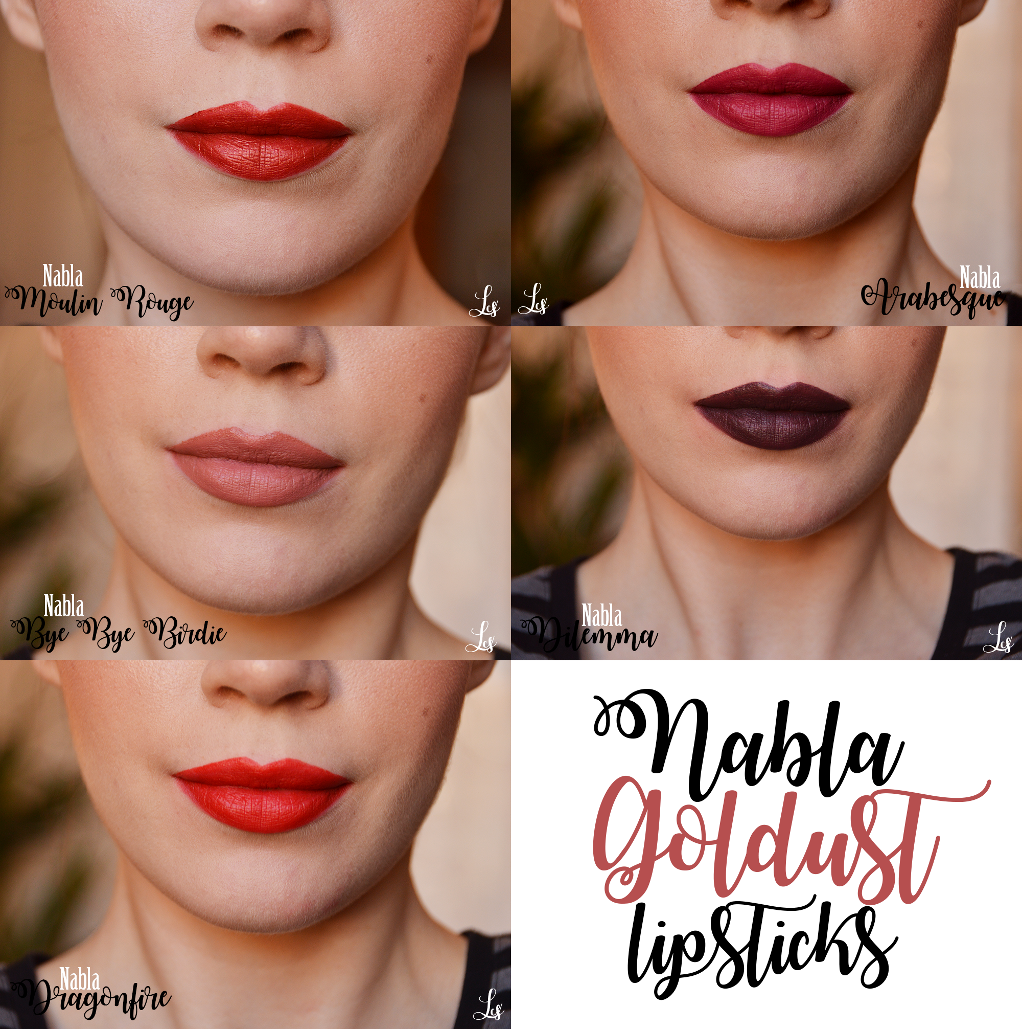 nabla-goldust-lipstick-swatches